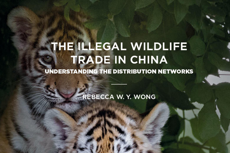 The illegal wildlife trade in china book cover