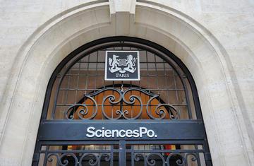 Entrance to Sciences Po in Paris